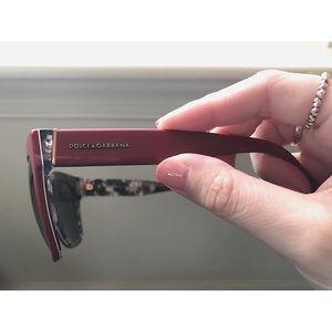Oversized Dolce and Gabbana Women's sunglasses